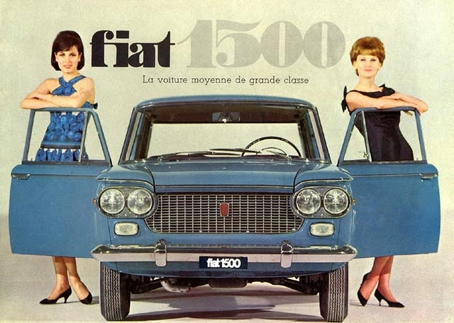 Girls & Cars (European Vintage Ads)