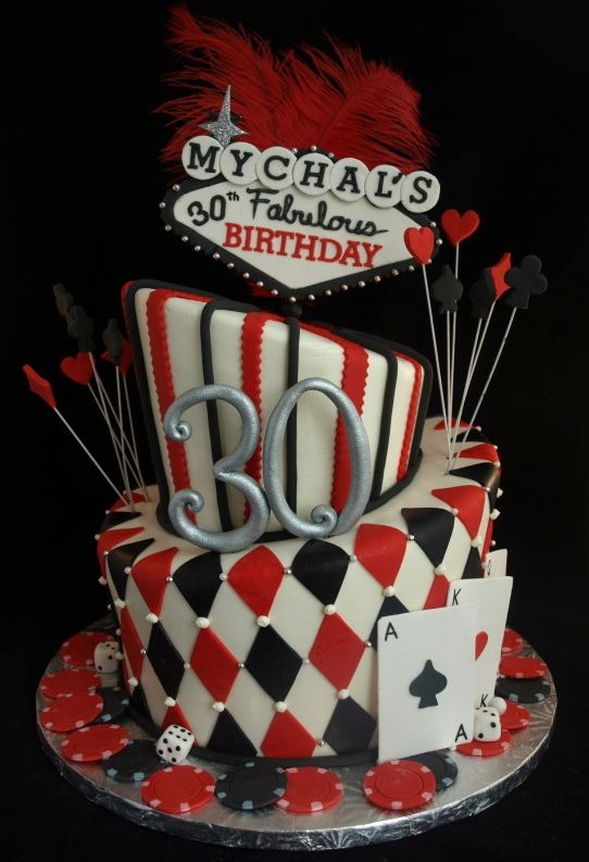 Pin By Genise Fraiman On Casino Cake
