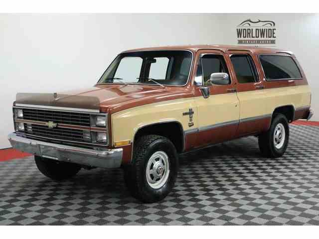 Classic Chevrolet Suburban For Sale On Classiccars Com Chevrolet