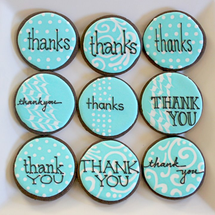 Thank you cookies loving this color, very fortnum and mason / tiffany's/martha