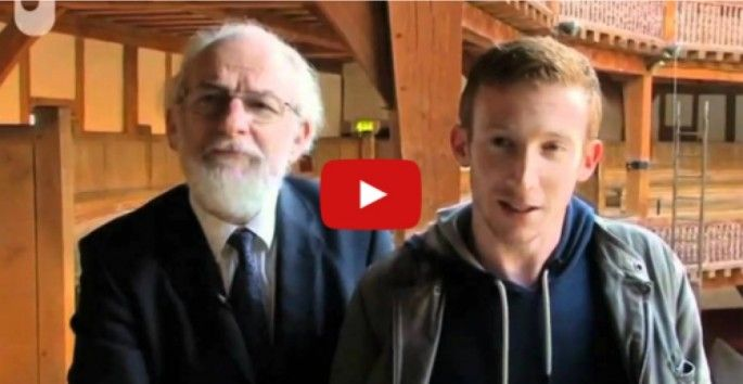 Here's What Shakespeare's Plays Sounded Like With Their Original English Accent: In this short documentary, linguist David Crystal and his son, actor Ben Crystal, look at the differences between English pronunciation now and how it was spoken 400 years ago.