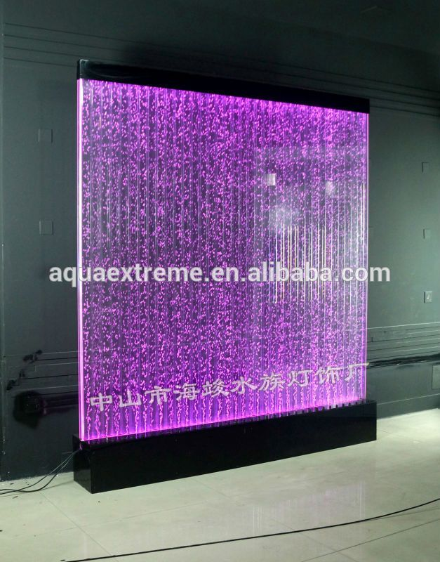 Home Decration Led Water Bubble Wall Panel Wall Divider Photo