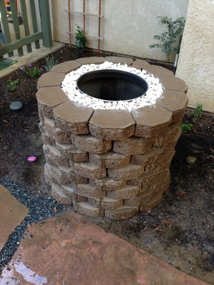 Washer Drum Firepit Fire Pit Decor