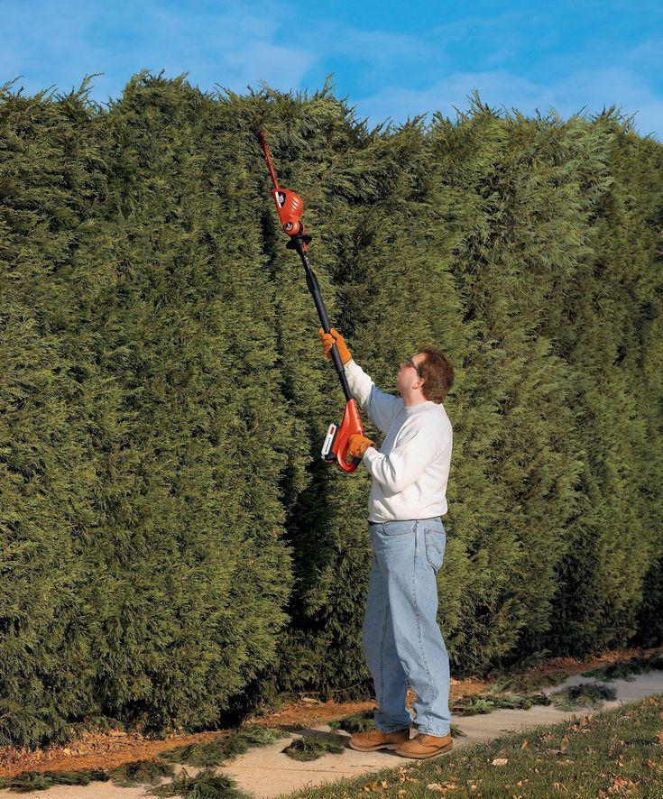 Cordless Long Reach Hedge Trimmer #Cordless, #Garden, #Reliable
