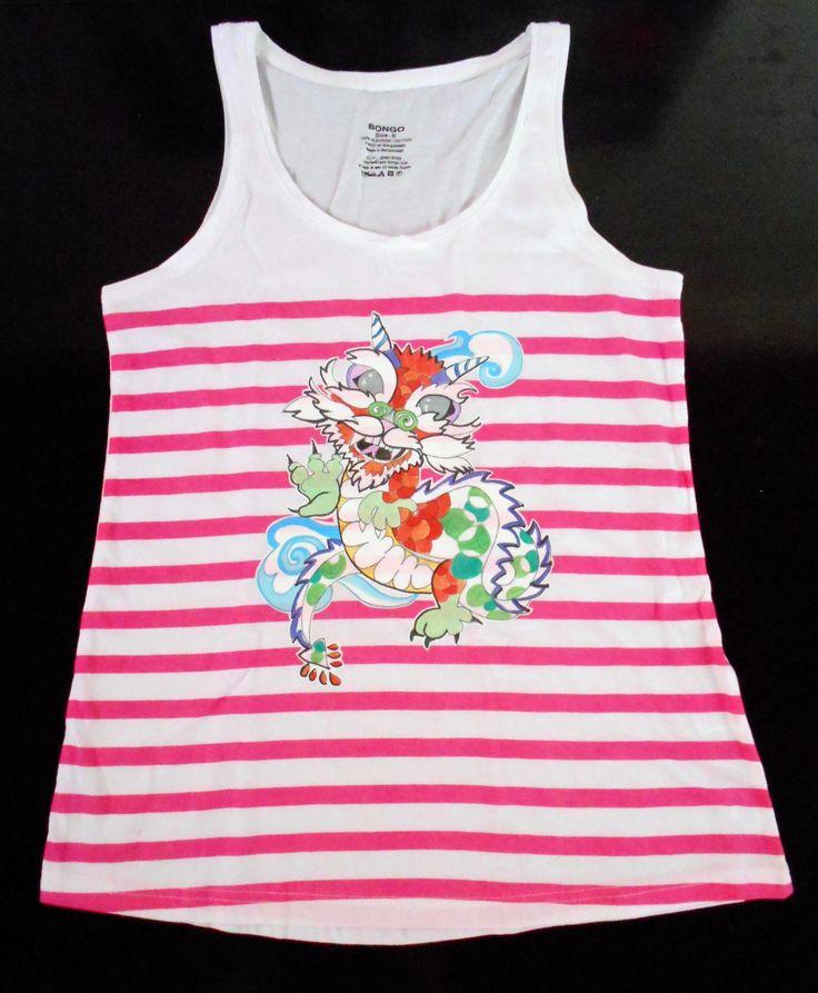 camiseta infantil dragón