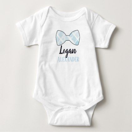 Bowtie Southern Baby Shower Gift Baby Bodysuit - baby shower gifts  party giftidea