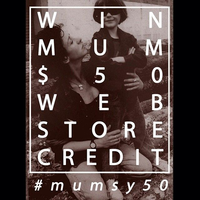 Win MUM - ONE OF TEN $50 vouchers to spend at our online store! All you need to do is SHARE this pic and TAG US! @janeandlisa  Entries close midnight MAY 8. Winner announced MIDDAY MAY 9 just in time to suprise Mum sunday morning.