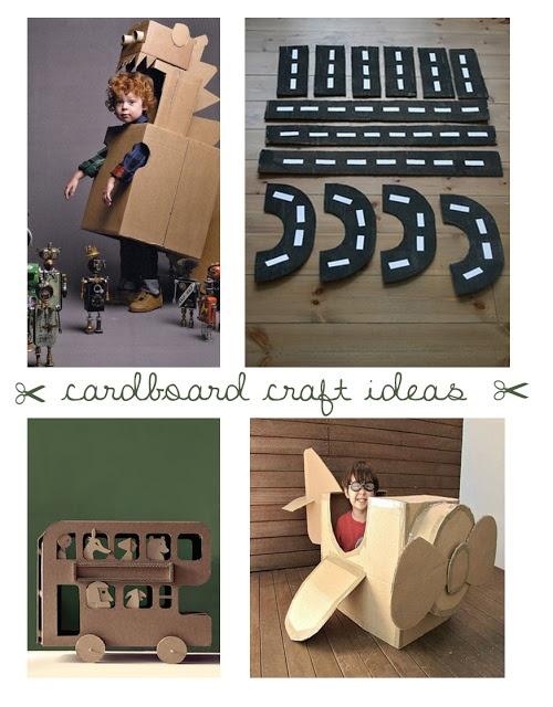 #Cardboard crafts for kids