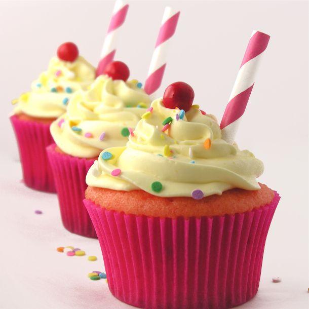 Limonada da morango Cupcakes !!!!!