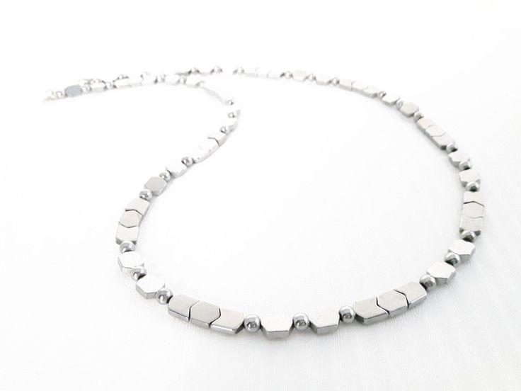 Collane da uomo - Collana in argento Ematite uomo - GSN03 - un prodotto unico di No-Limits su DaWanda