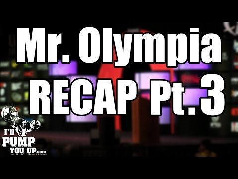 2015 Mr. Olympia Recap and Review PART 3 - http://adjustabledumbbellstoday.com/2015-mr-olympia-recap-and-review-part-3/