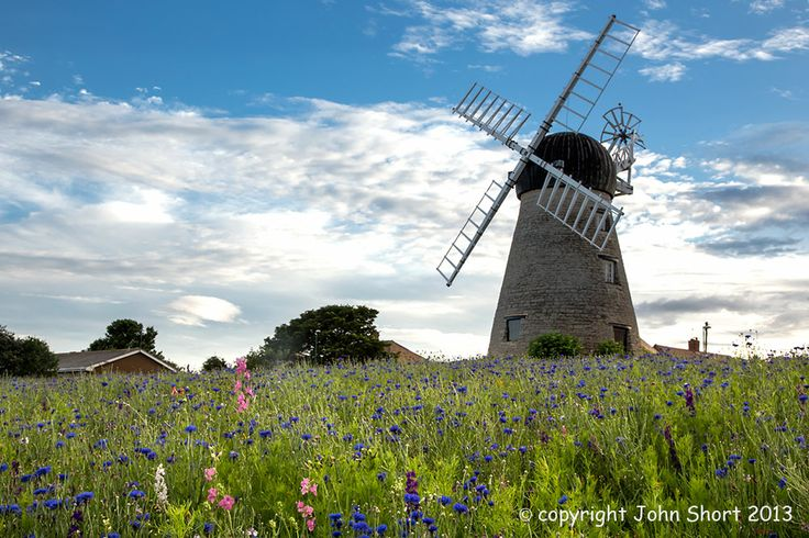 Whitburn Windmill, South Tyneside.   Dating from the eighteenth century, is a local landmark