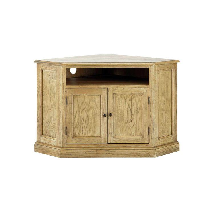 Les 25 meilleures id es de la cat gorie meuble tv angle sur pinterest meubl - Meuble d angle en bois brut ...