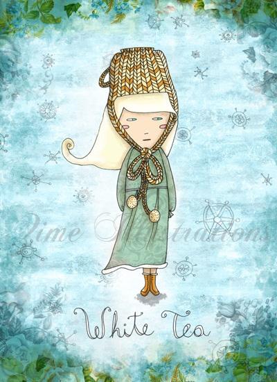 White Tea Girl