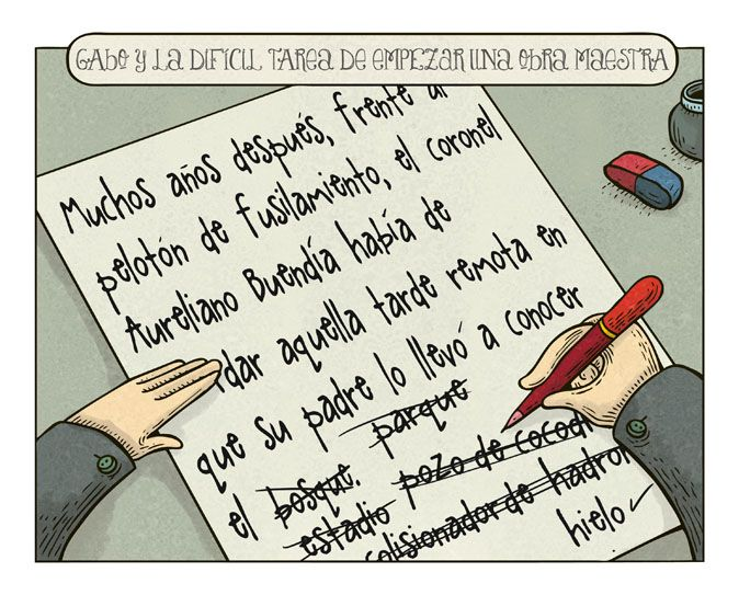 The creative writing gabriel flores