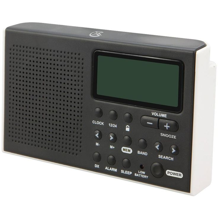 Gpx Portable 6-band Shortwave Am And Fm Radio