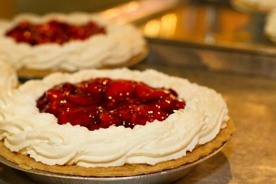 Polly's Pies. Where you can find Banberry Pie, yum!