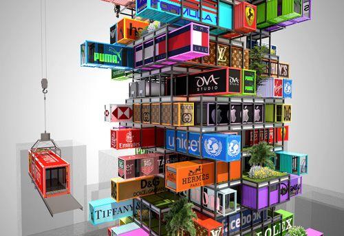 Wettbewerbsbeitrag OVA Hotel Hive-Inn