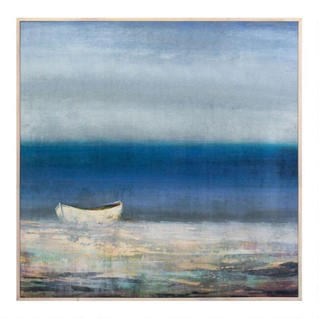 Oceana Framed Canvas Wall Art V1 In 2020 Framed Canvas Wall Art Wall Decor Painting Canvas Canvas Art Painting