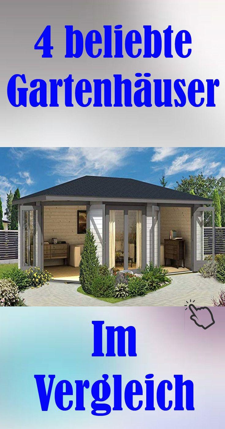 Gartenideen 4 Beliebte Gartenhauser Im Vergleich Gartenhaus