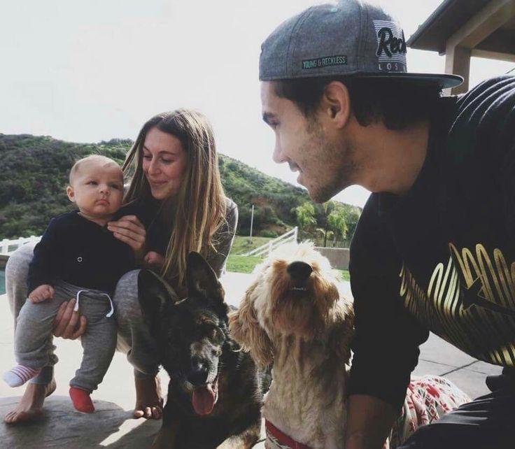 Carlos & Alexa PenaVega with their son Ocean King