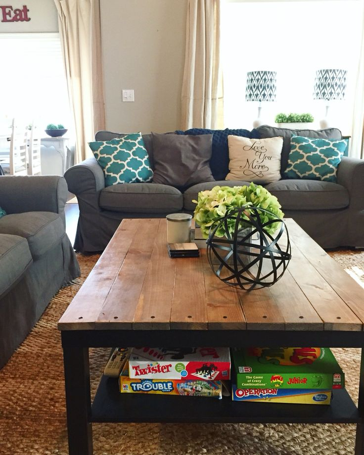 Ikea Hack: Lack coffee table