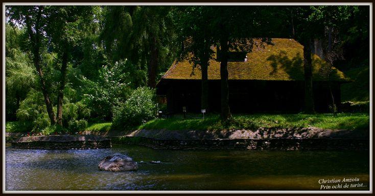 Taken at Bran Castle. little cabin by the lake...