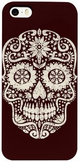 Funny Día De Los Muertos Design by EDDA Fröhlich / EDDArt | It's a Sugar Skull with Stars and not only for Gothic People or Halloween | You miss other products