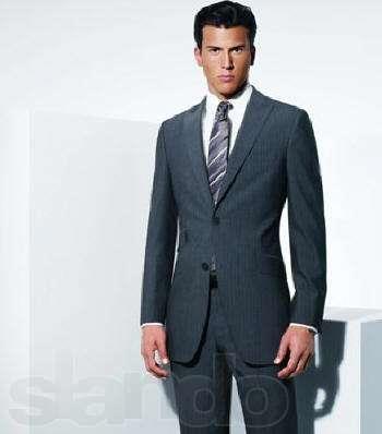 Итальянский бренды мужской костюм