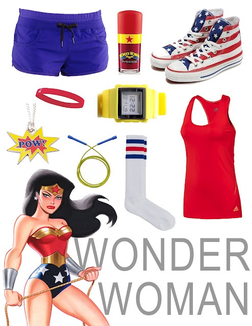 Wonder Woman Crossfit Outfit