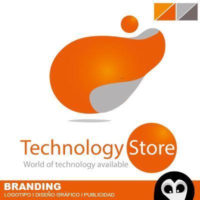 Logo Technology Store, diseño de logotipos, marca comercial, desarrollo de … … – ideas de diseño