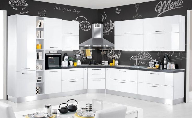Cucina Katy Mondo Convenienza Modern kitchen, Kitchen