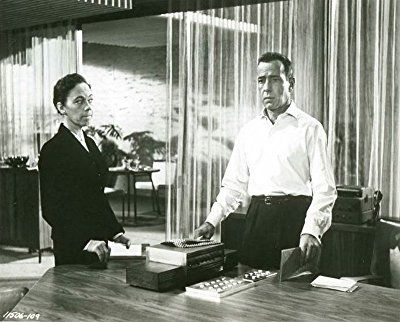 Humphrey Bogart and Ellen Corby in Sabrina (1954)