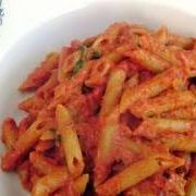 Penne Vodka Recipe - Laura in the Kitchen - Internet Cooking Show Starring Laura Vitale