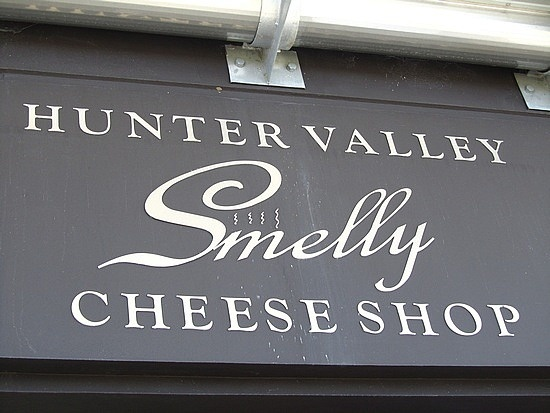 Hunter Valley, Smelly Cheese shop, NSW, Australia, the place for cheese!