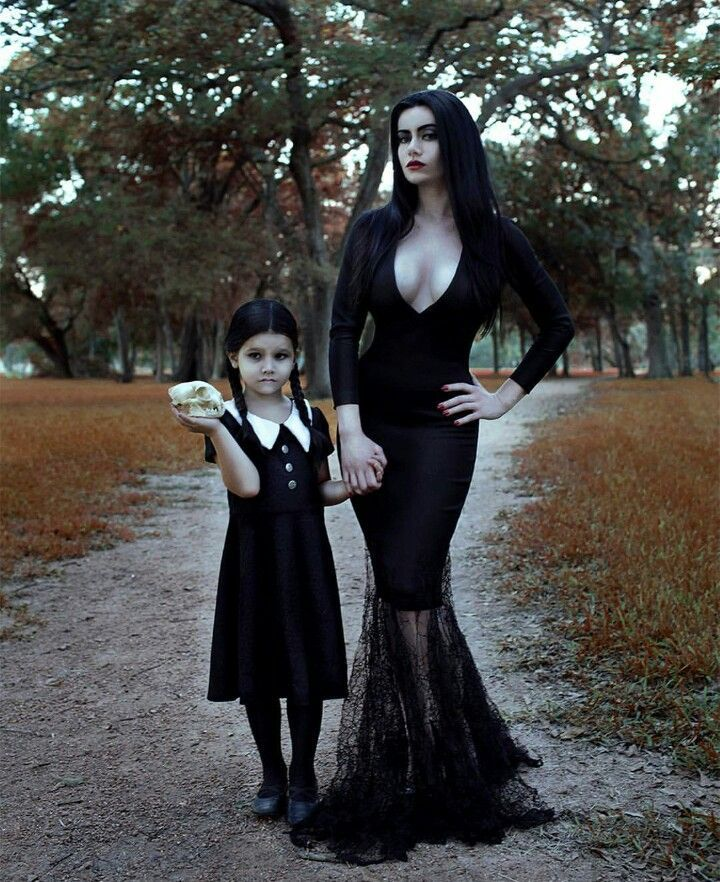 wednesday addams halloween costume morticia for http 30530