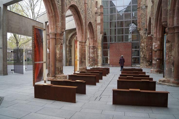 Memorial site St. Christoph in Mianz. ©Landeshauptstadt Mainz