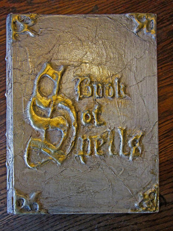 Halloween Book Cover Ideas : Best ideas about halloween spell book on pinterest