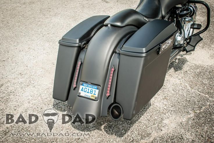 Bad Dad | Custom Bagger Parts for Your Bagger | Baggers :: Jesse's 2013 Street Glide