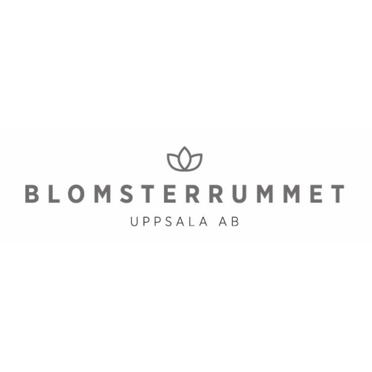 Logotype till Blomsterrummet Uppsala