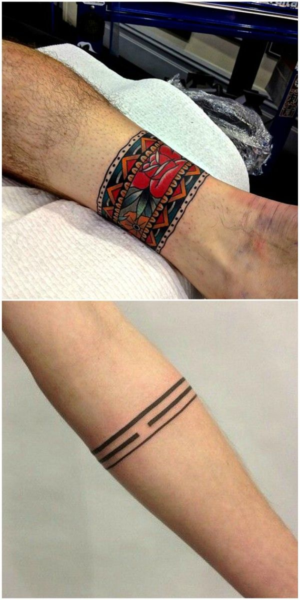 Tatuajes De Brazaletes Tatuajes Para Mujeres Y Hombres Tattoo