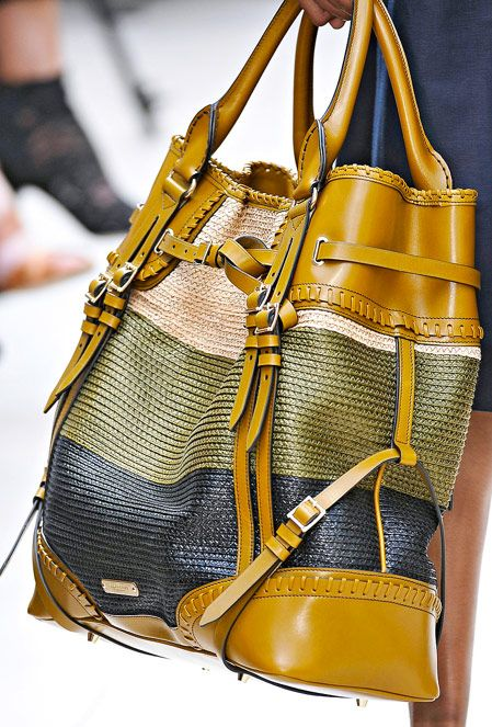 Burberry Spring 2012 Handbags