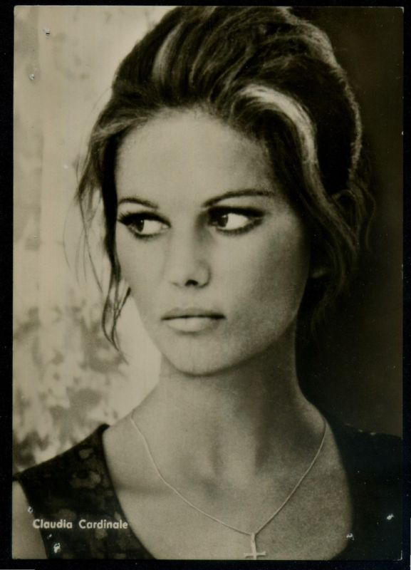 Claudia Cardinale - far better than Sophia Loren I always thought.
