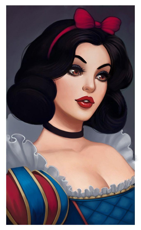Vicky snow white porn