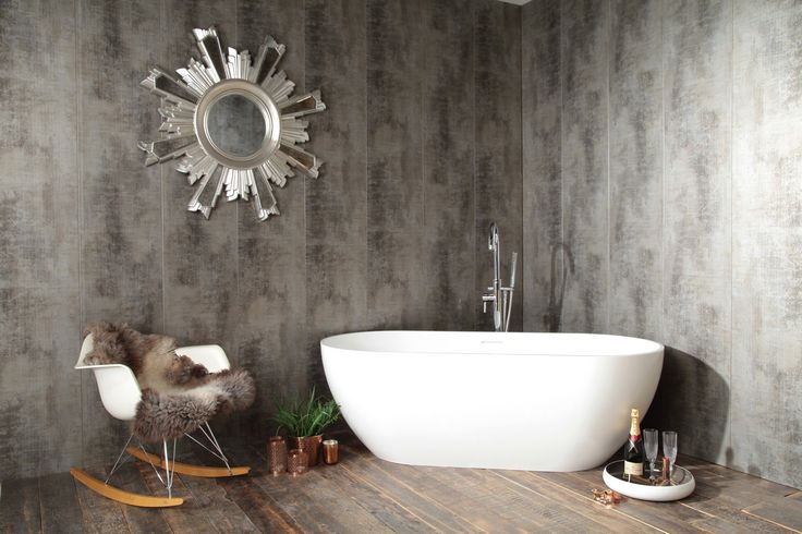 Swish Marbrex Fired Earth Bathroom Wall Cladding - Decorative Wall Panels - Panels