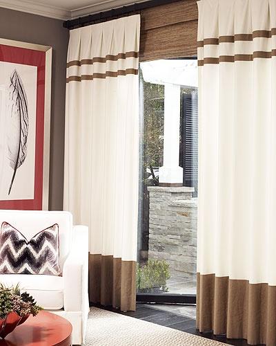 Hampton Linen drapes @ Drapestyle