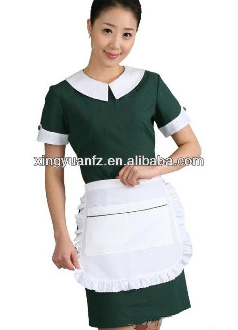 110 best cleaning house images on pinterest maid uniform for Spa housekeeping uniform