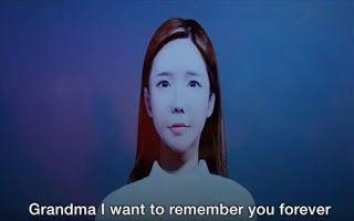 Συζήτηση και selfies με 3D άβαταρ ...νεκρών μέσω app τεχνητής νοημοσύνης! (video)