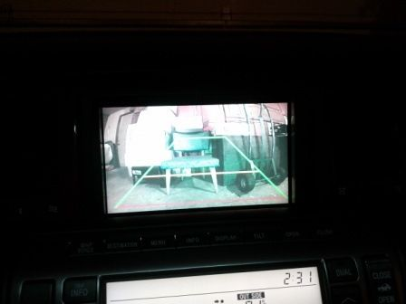 Mod #7- Crimestopper 170-degree CMOS License Plate Reverse Camera