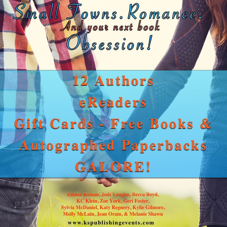 Small-Town Contemporary Romance Giveaway!